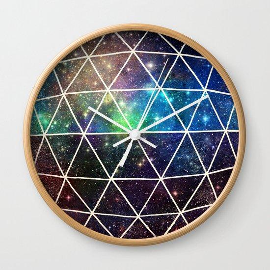 Space Geodesic Wall Clock