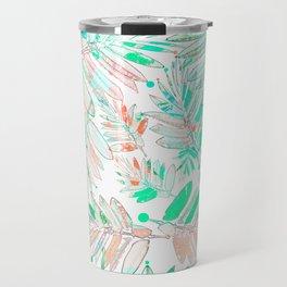 Floral Abstract 83 Travel Mug
