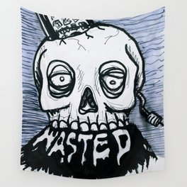 wasted Wall Tapestry