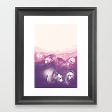 Wild Mountains Framed Art Print