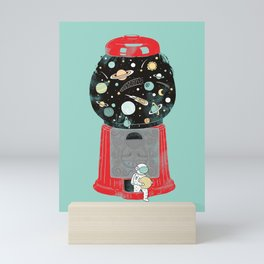 My childhood universe Mini Art Print