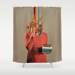 Musicolor Shower Curtain