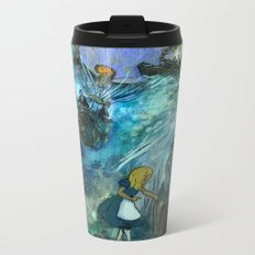Classic Literature Books Metal Travel Mug