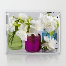 Gardenias in a Jar Laptop & iPad Skin