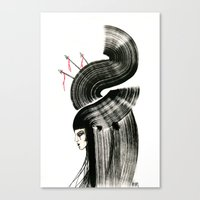 arrows Canvas Prints featuring arrows by Kraken Khan