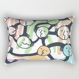 Connected Dreamers Rectangular Pillow