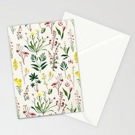 WILDFLOWER STUDY Stationery Cards