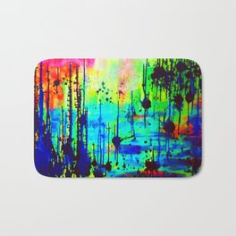 Waterlily Cat tails Bath Mat
