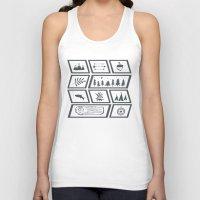 camping Tank Tops featuring Camping by Corina Rivera Designs