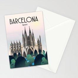 Barcelona la sagrada familia Stationery Cards