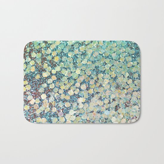 Mermaid Scales Bath Mat
