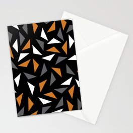 Animated triangles Stationery Cards
