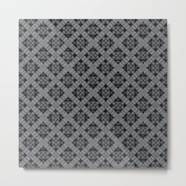 Sharkskin Patchwork Metal Print