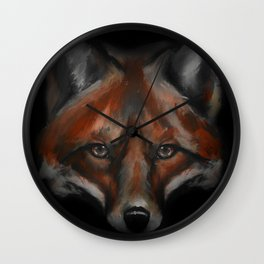 Fox #1 - 2015 Wall Clock