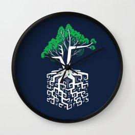 Cube Root Wall Clock