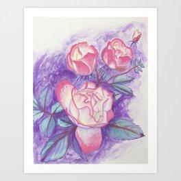 Roses (2016) Art Print