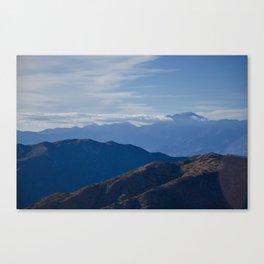 California Mountains Canvas Print