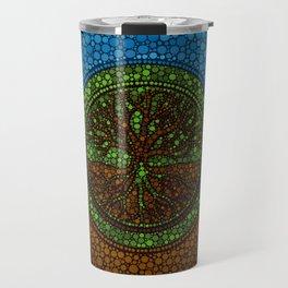 Yggdrasil- Tree of life Dot Art #2 Travel Mug