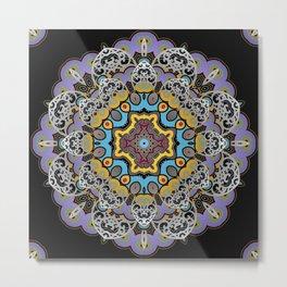 Soothing Mandala Metal Print