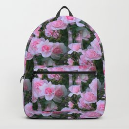 Baby pink roses Backpack