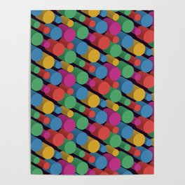3D X Pipes II Poster