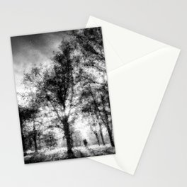 Autumn in the Park Pastel Stationery Cards