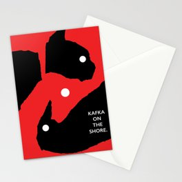 Kafka on the shore Stationery Cards