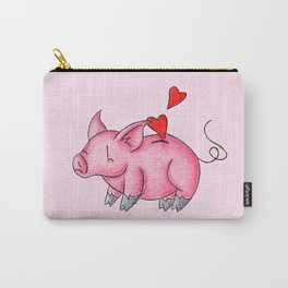 Slot for Hearts Carry-All Pouch
