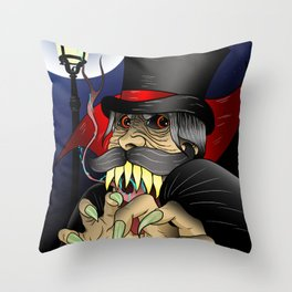 The Ripper Throw Pillow
