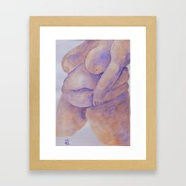 A Voluptuous Handful Framed Art Print