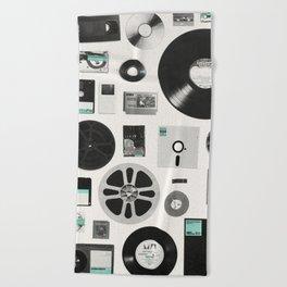 Data Beach Towel