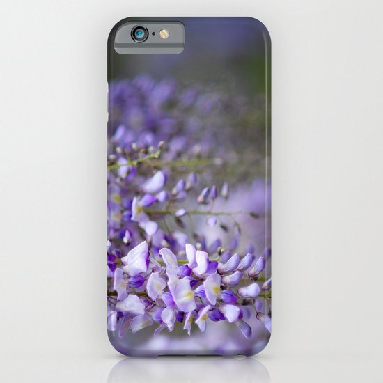 Wisteria on a rainy spring day iPhone & iPod Case
