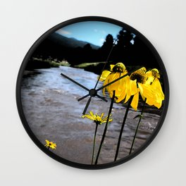 Be My Flower Wall Clock