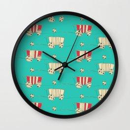 wozy_turq Wall Clock