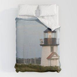 Nantucket Lighthouse Duvet Cover