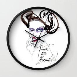 Paint Me Beautiful Wall Clock