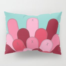 Patched Up Circle Pillow Sham