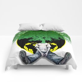 Tree Head Comforters