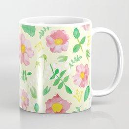 California Rose Pattern Coffee Mug