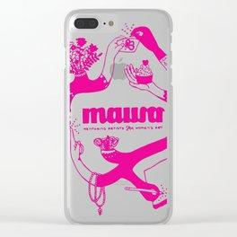 Pink! Sarah Tonin's Design for MAWA Clear iPhone Case