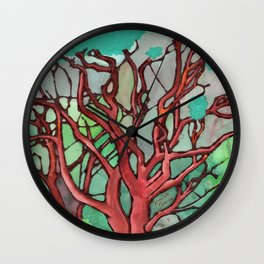 Manzanita Wall Clock