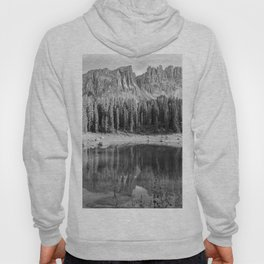 Reflection River (Black and White) Hoody