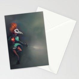Bird of ill omen Stationery Cards
