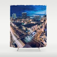 tapestry Shower Curtains featuring Tapestry by jmdphoto