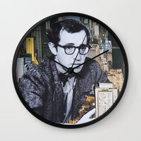 manhattan Wall Clocks featuring Manhattan by John Turck