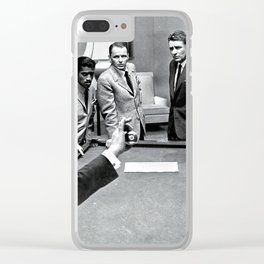 Ocean's 11 - The Rat Pack Clear iPhone Case