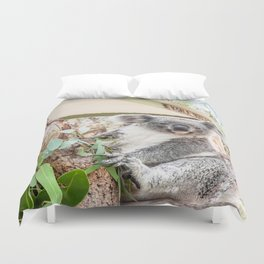 G'day, Mate! Koala, Australia Duvet Cover