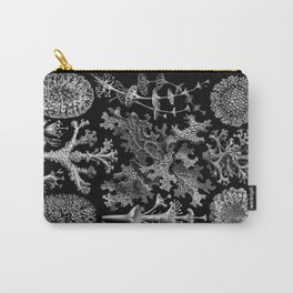 Lichens(Lichenes) by Ernst Haeckel Carry-All Pouch