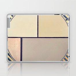 Toned Down- navy stripe Laptop & iPad Skin