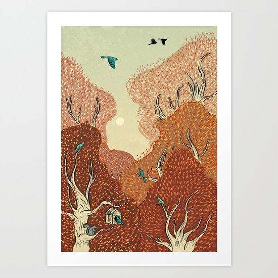 Time for Fall Art Print